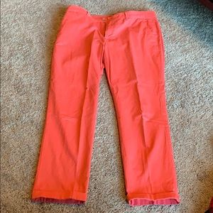 Woman's girlfriend colored pants